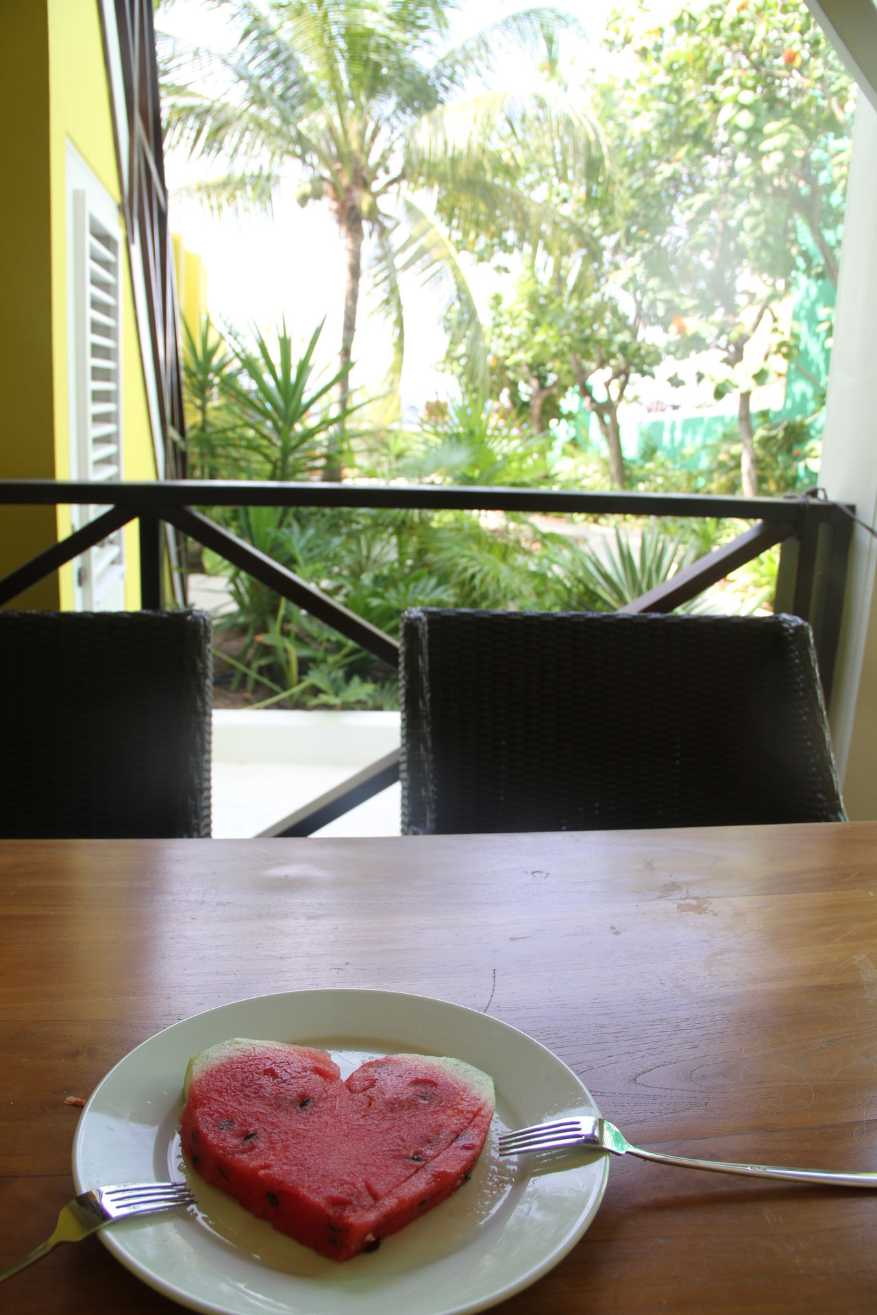 Day Exotic Freshness Healthy Eating Heart Melon No People Plate Summertime Sweet Food Table Water Melon