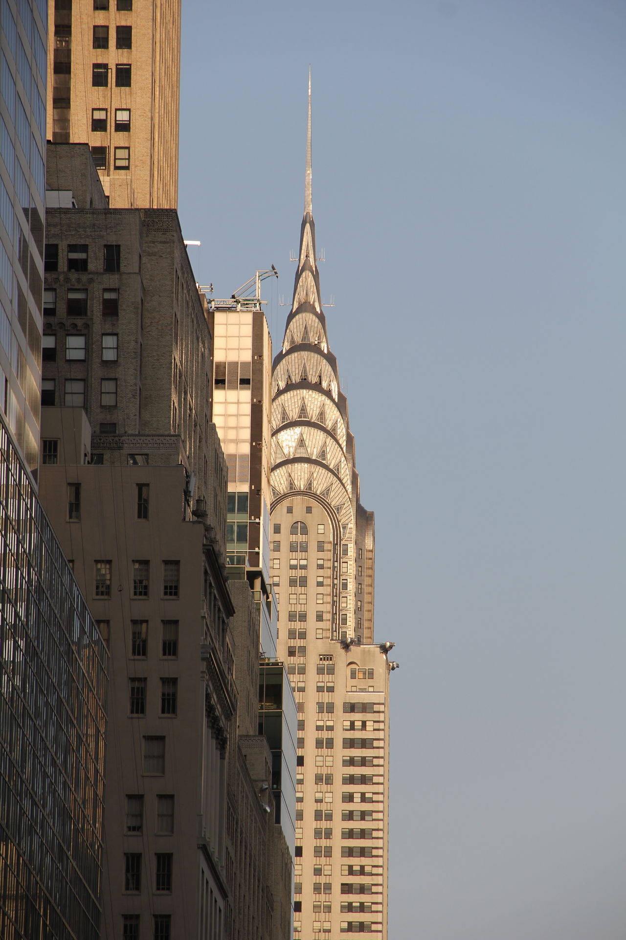 The iconic Chrysler building in New York City Architecture Big Apple Building Exterior Built Structure Chrysler Building City Cityscape Clear Sky Icon Iconic Buildings Landmark Landmarkbuildings New York New York City No People NYC NYC Photography Outdoors Sky Skyscraper Travel Destinations Travel Photography Urban Urban Skyline USA