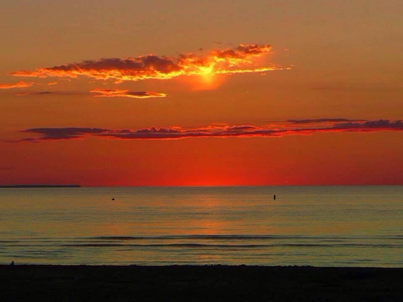 a lovely day with my neighbours and dad? Wasagabeach Summer Beautiful Tropical Sunset Water