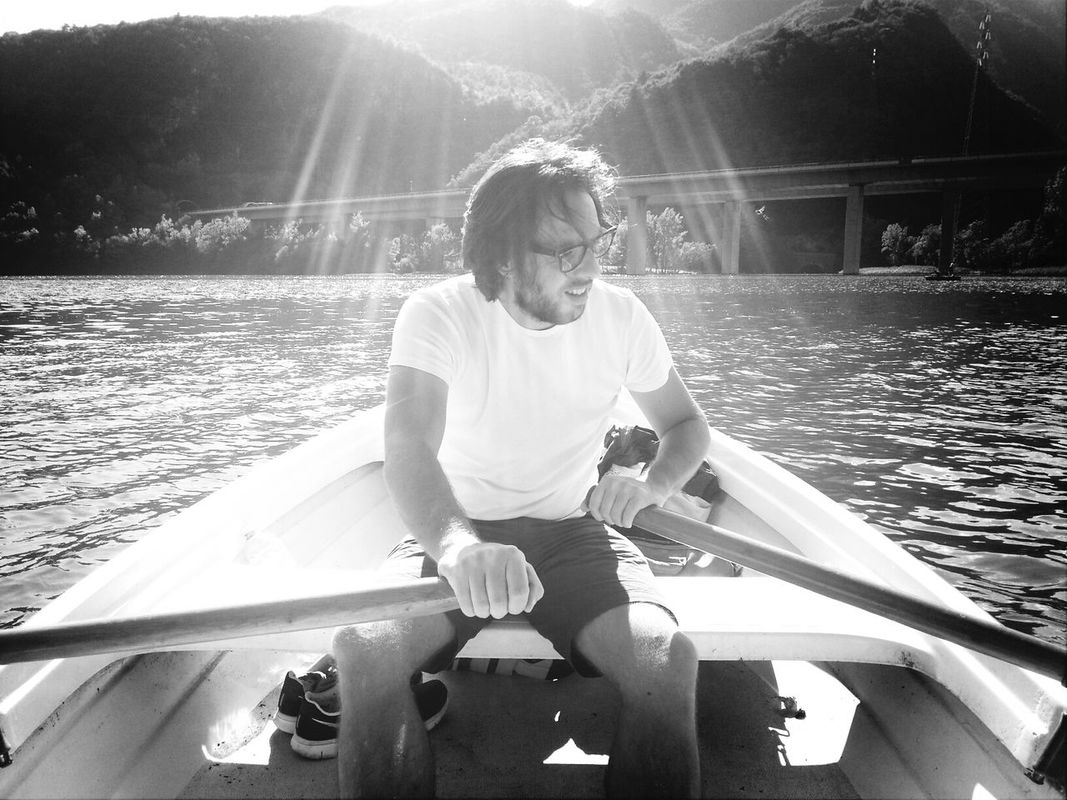 keep on boating... Very Italian People Me blackandwhite summer by Giorgio Fochesato