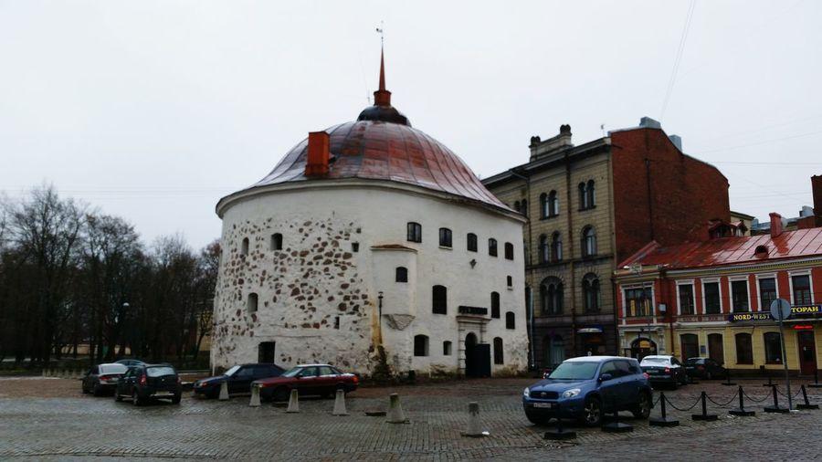 выборг круглая башня Round Tower