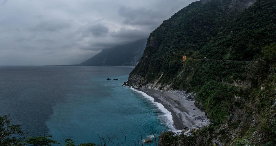 Black Beach Cliffs Coastline Coastline Landscape East Coast EyEmNewHere Formosa Hualien Hualien, Taiwan Taiwan Taiwanese Travel Travel Destinations