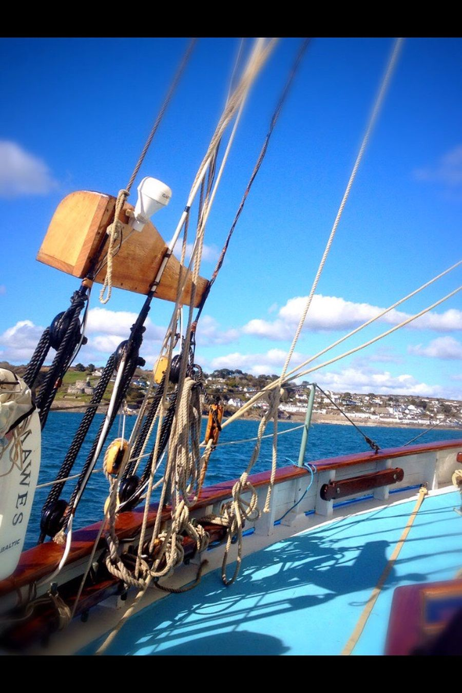St Mawes Nautical Vessel Blue Boat Rope Sky Water Day Cornwall Abundance Harbor Group Of Objects Outdoors Large Group Of Objects Sea Nature No People Cloud - Sky Port Ocean The Color Of Sport Pilot Cutter Wooden Hull Wooden Boat Racing