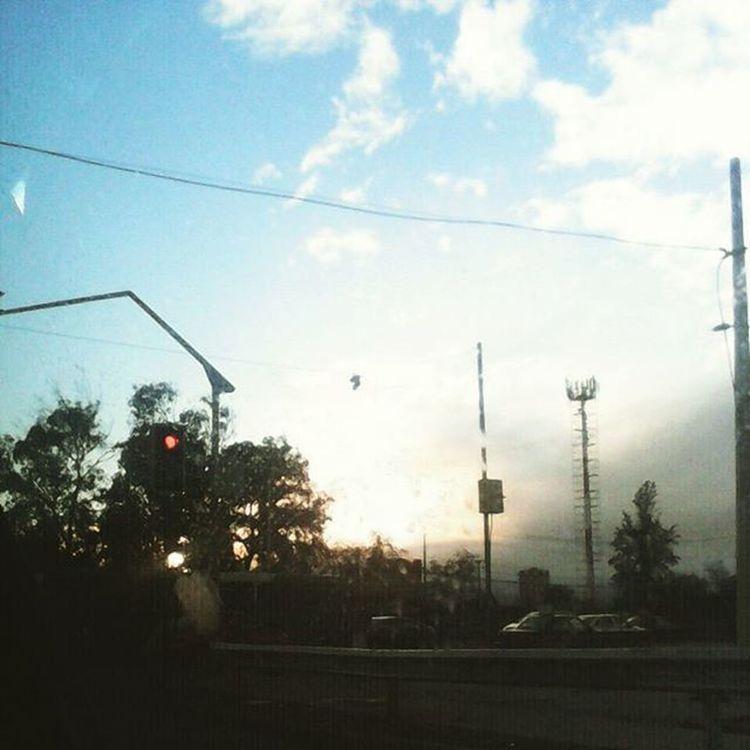 Sunset en Santiagoapie