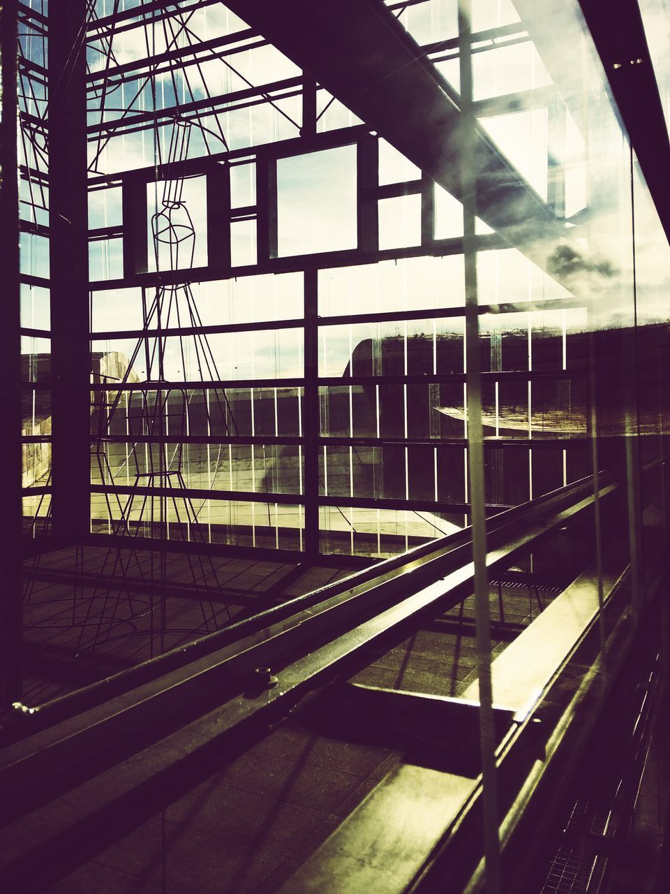 indoors, window, built structure, architecture, day, no people, building exterior, close-up, sky