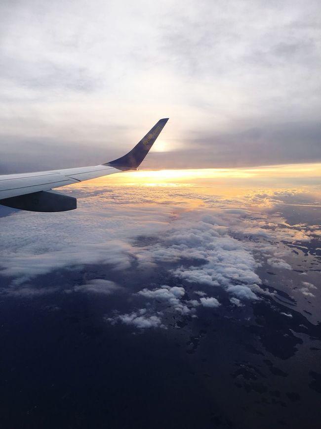 То,что принесло мне кучу эмоций Flying Travel Sweden Cloud - Sky Scenics