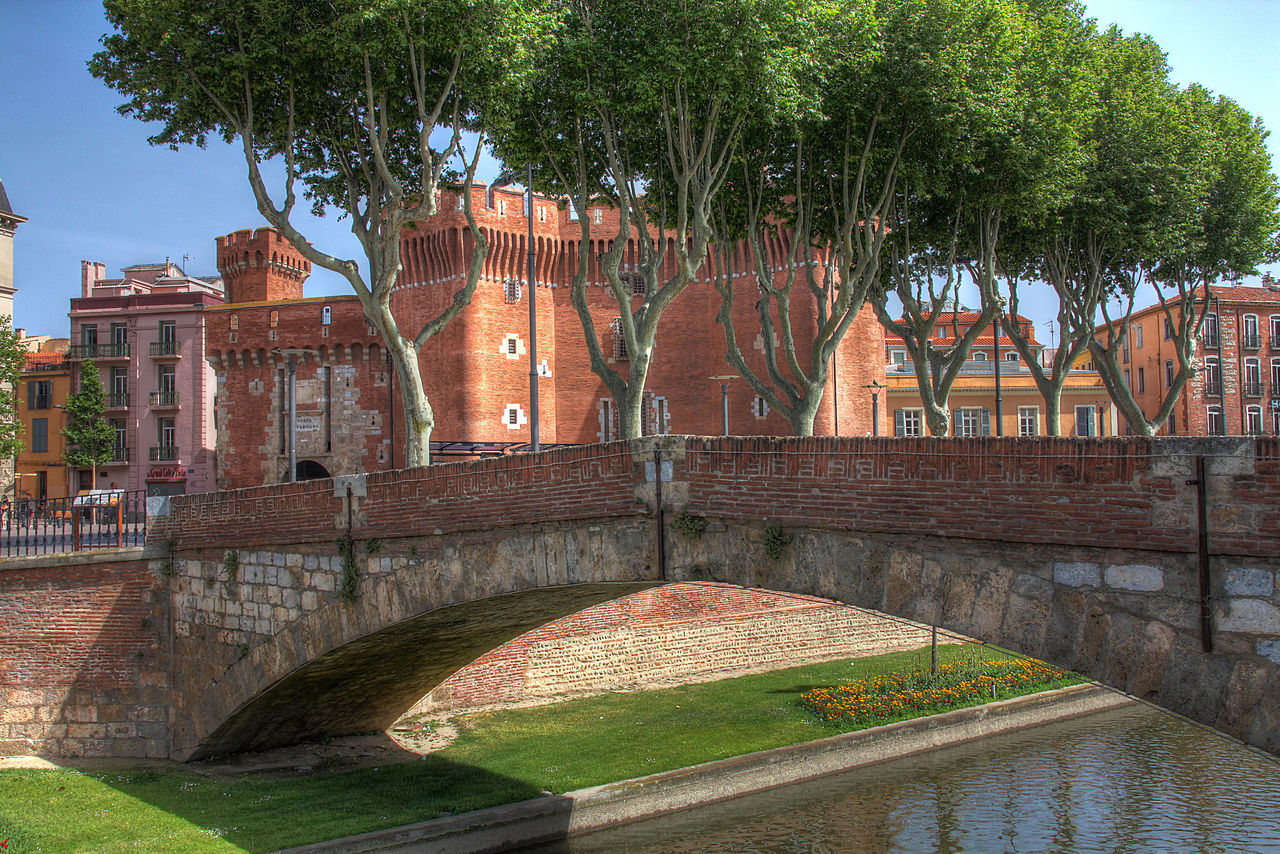 Architecture Building Exterior Built Structure Day France Le Castillet No People Outdoors Perpignan Tree