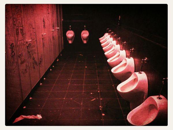 Berlin Night Lights Red Toilet LastNight :) Nightclub