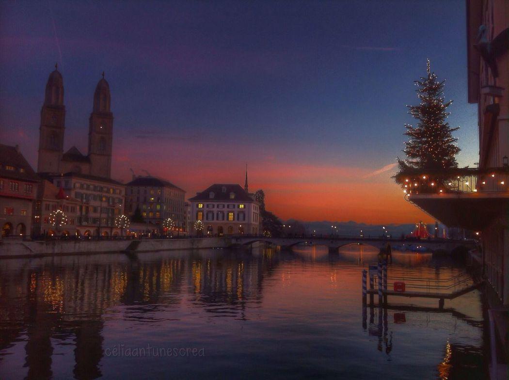 Zürich never Falling Asleep EyeEm Best Shots - Sunsets + Sunrise Twilight