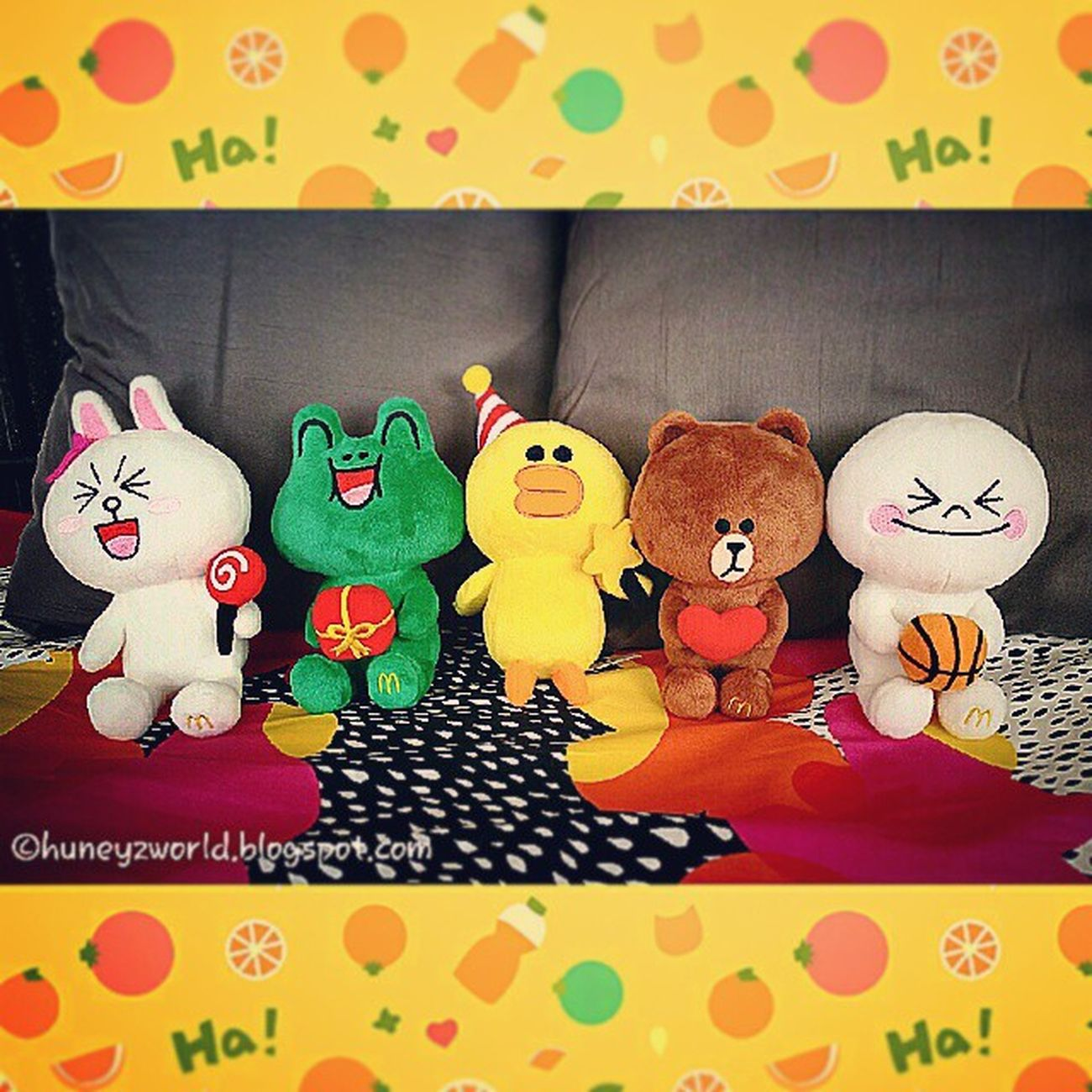 LINE fans! Better get ready for these super adorable plushies on 5th Jan at Mcdonalds !!! Mcdpjparty Mcd LINESingapore @linedeco_official toys toysphotography toy