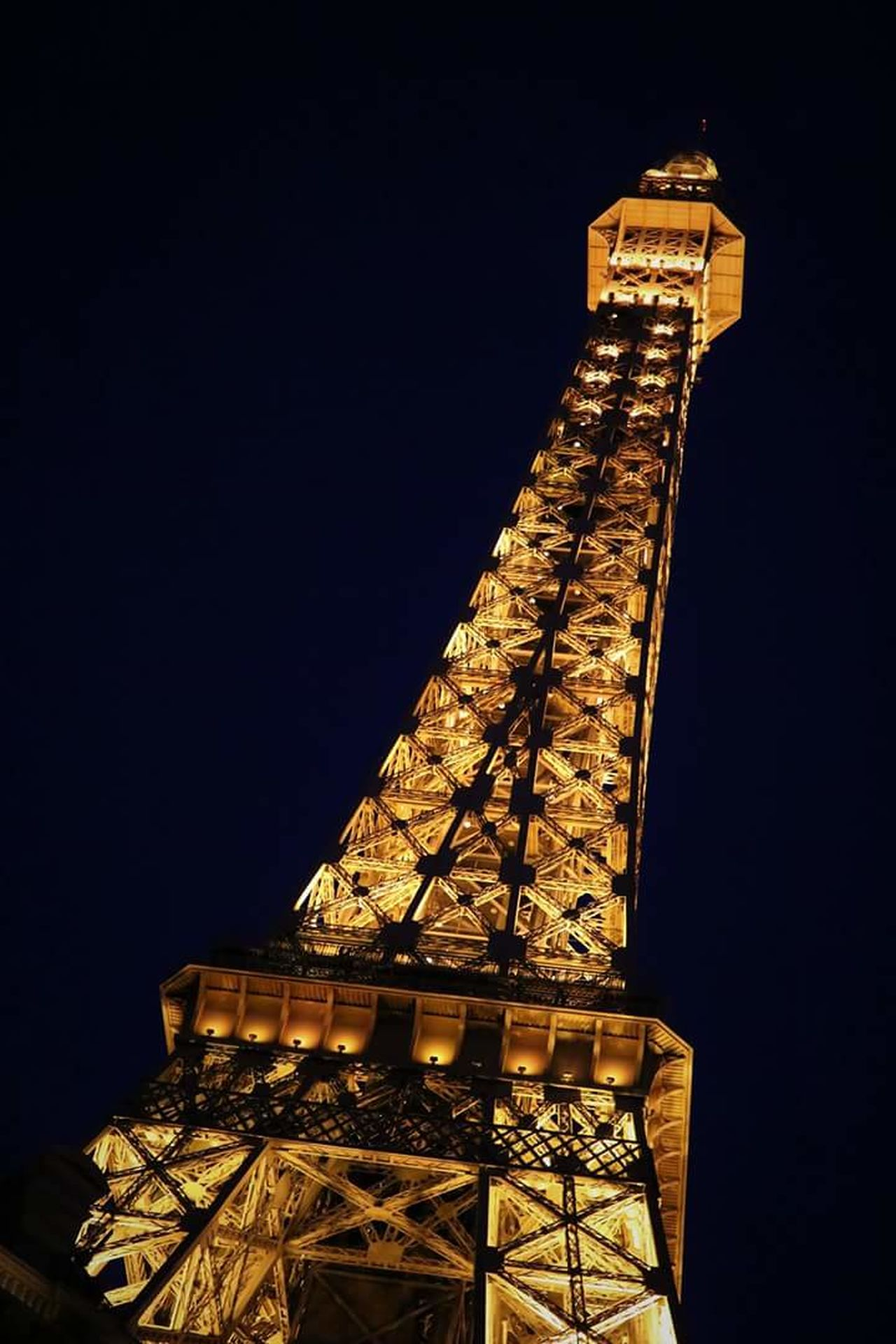 Tower City Gold Sky Tourism Effiel Tower Las Vegas Documentary Photography Nighttime Photography