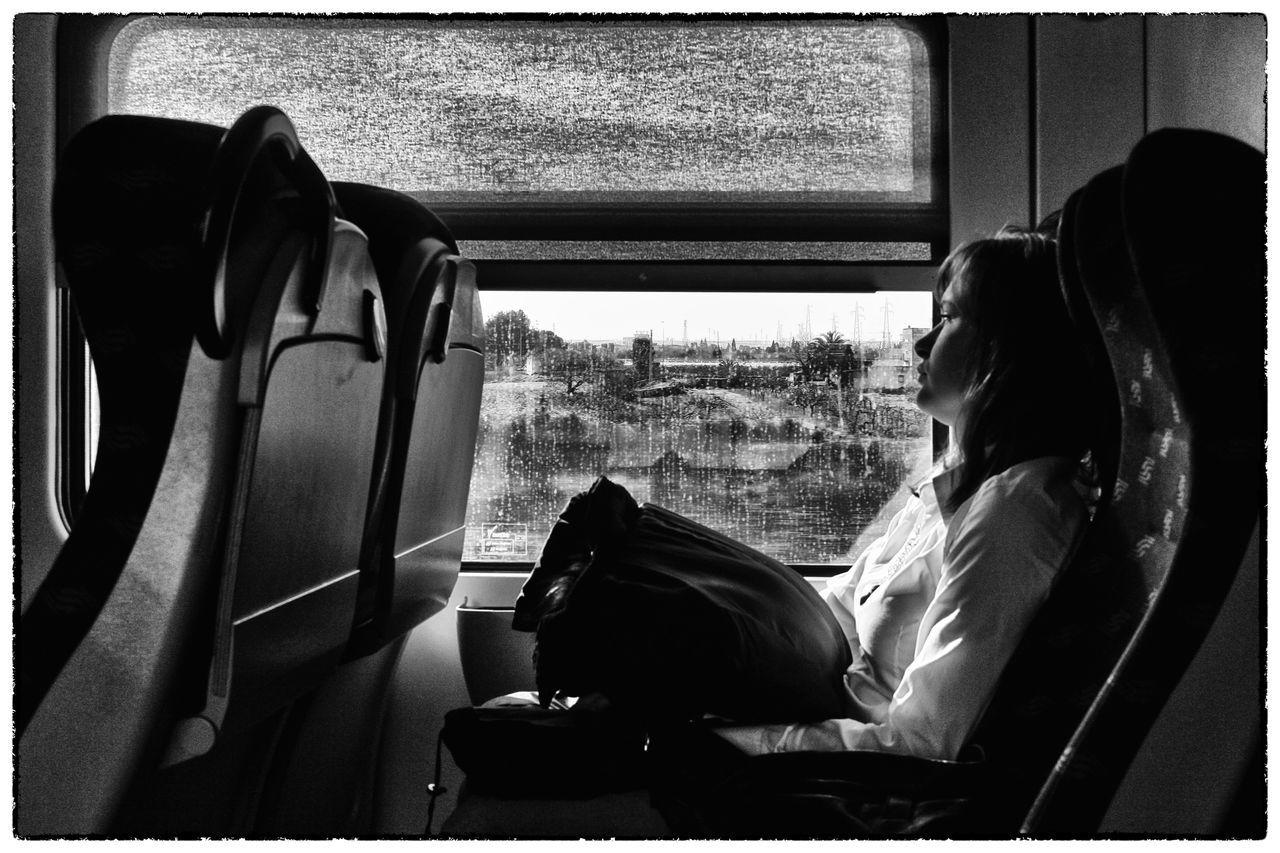 71100 Nuvoloso Ombre Partenza Pensieri Pioggia Separazioni Train Station Travel