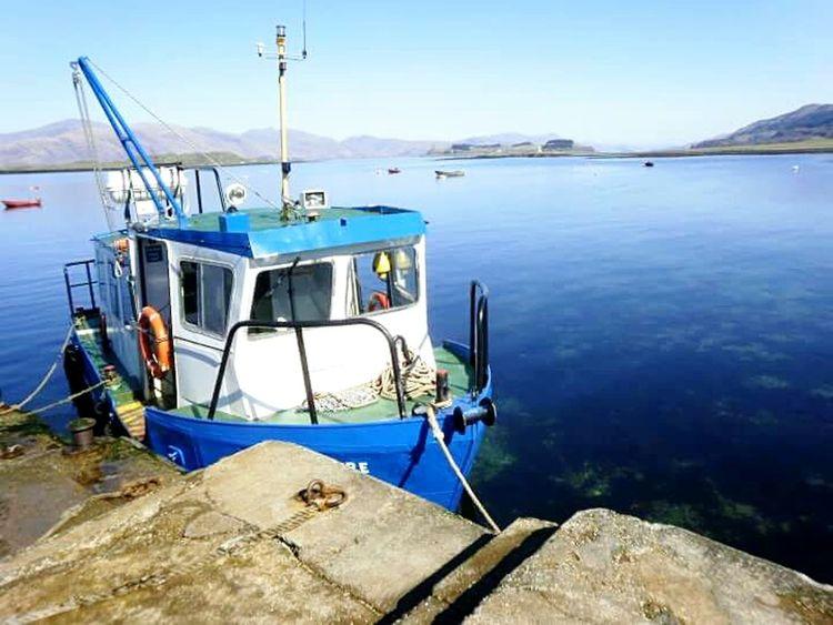 2010, Port Appin - going to Lismore Water Transportation Springtime Scottish Highlands Scotland Boat Boat Trip Port Appin Isle Of Lismore Lismore Boat
