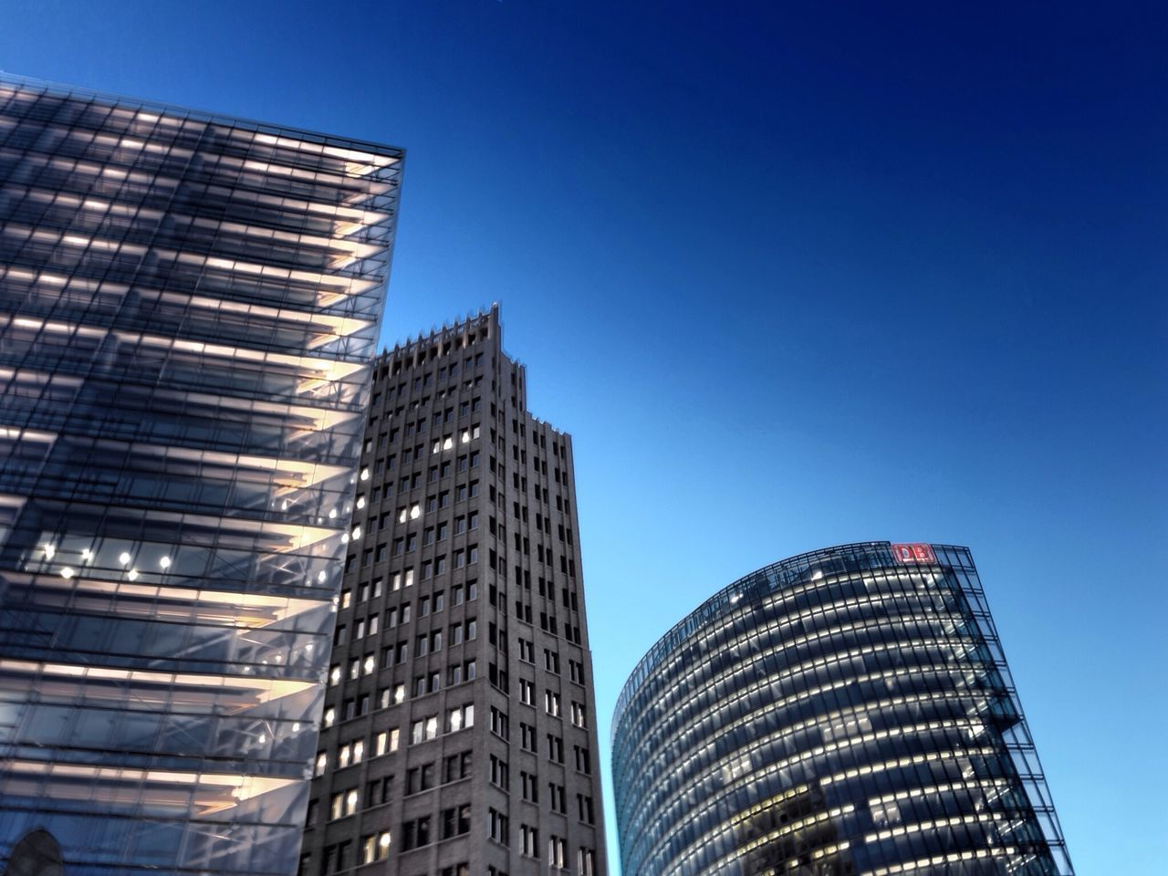 Sky Skyscrapers Architecture
