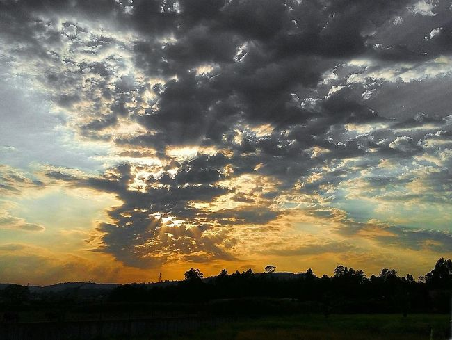 My Golden Moment Landscape Skyscape Sky And Clouds Nature Sky Dramatic Sky 43 Golden Moments Color Of Life