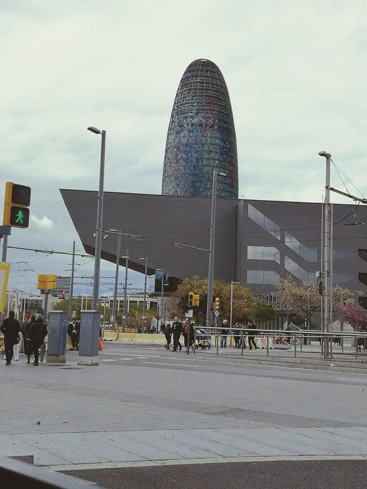 Barcelona torre Agbar Architecture City Modern Built Structure Street City Street Travel Primavera2017 Barcelona, Spain Barcelona Streets Barcelonainspira