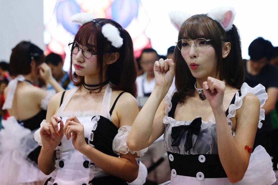Girl Catgirl Chinajoy Lovely Showgirls