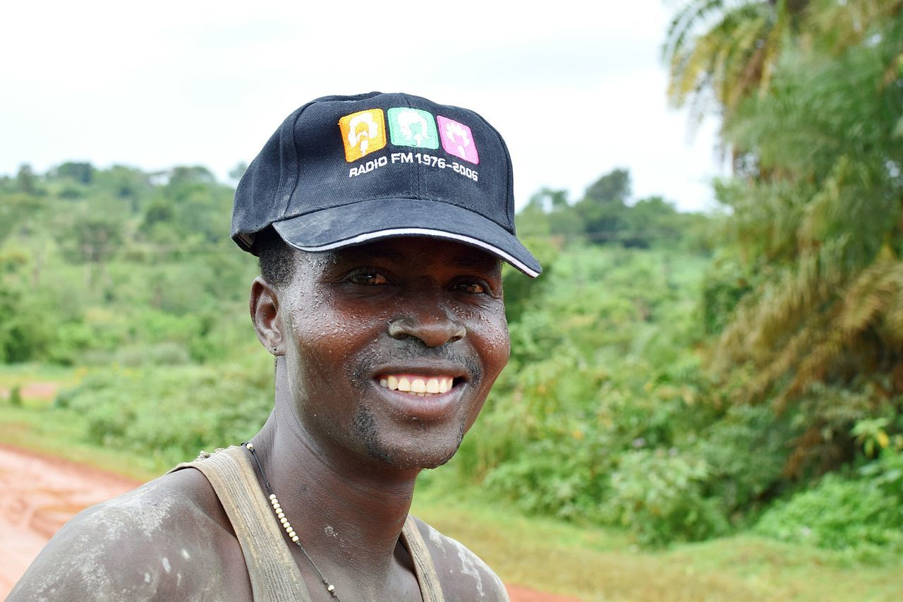 One Man Only Headshot Only Men One Person Adults Only Portrait Adult Looking At Camera People Mid Adult Day Cap Outdoors Standing Close-up Real People Mpara Uganda