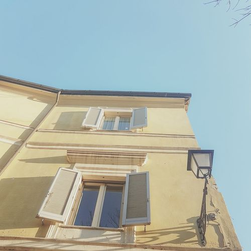 Architecture Clear Sky No People Sky Outdoors Business Finance And Industry Day Architecture Close-up Outdoors No People Day Sky Plant Building Exterior Window Low Angle View Photography Photographer City Travel Destinations Orvieto, Italy Social Issues Apartment Nature Photooftheday Shades Built Structure Skyscraper