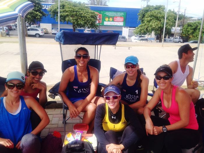 Costa Rica Beach Volleyball Friends My Passion Enjoying Life