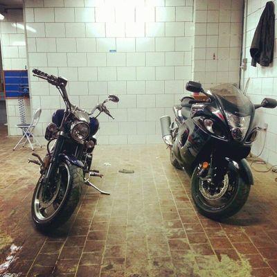 Beasts on Wheels YamahaWarrior1700 & SuzukiHayabusa InstaMotorcycles InstaBikes
