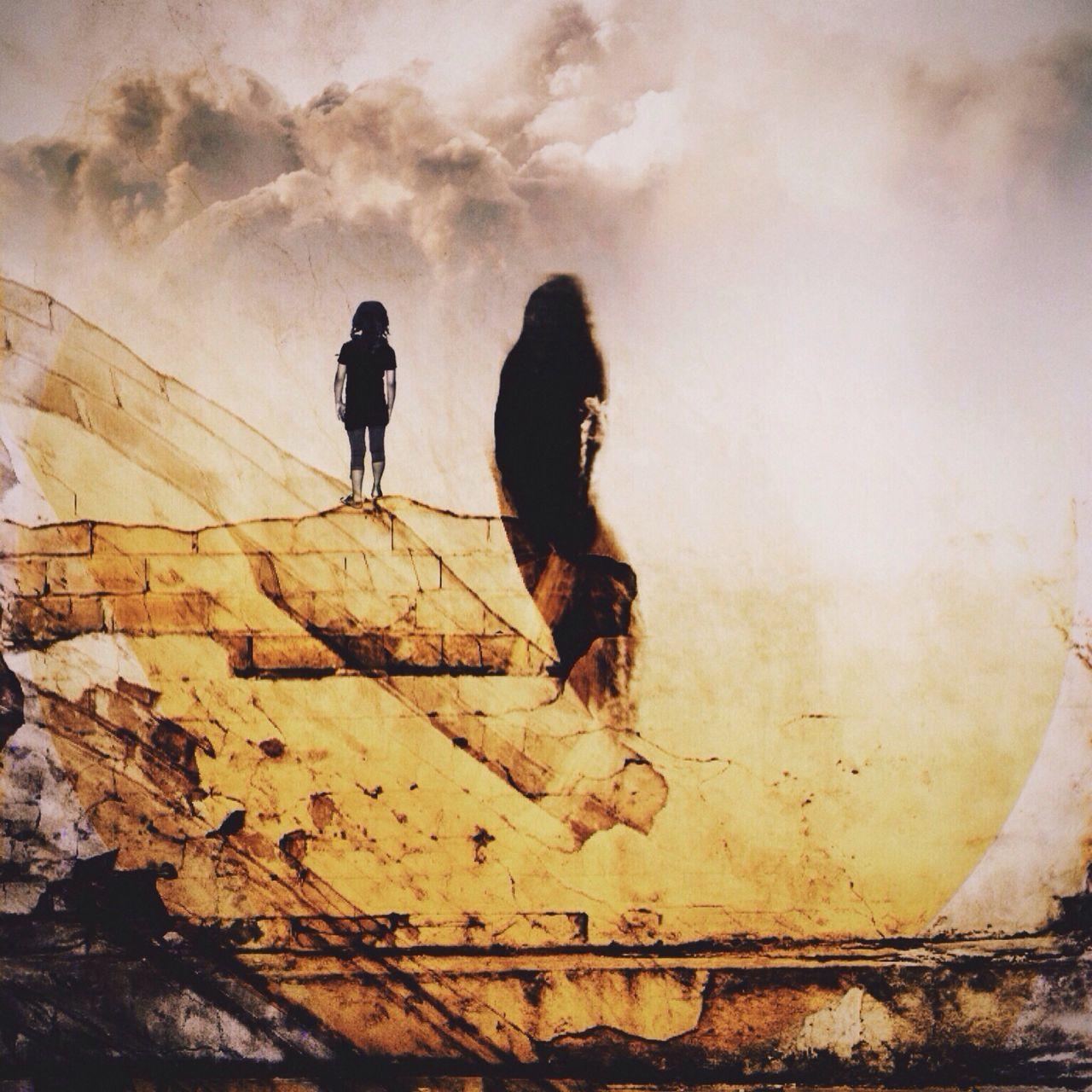 Your life is ahead of you NEM GoodKarma Surrealism WeAreJuxt.com Collage