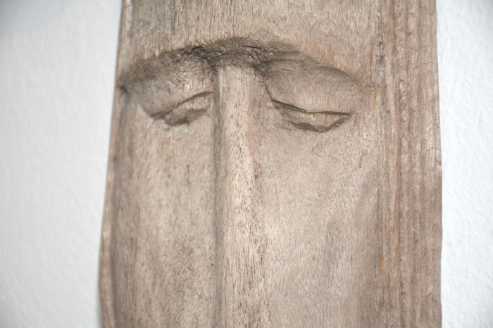 wood carving of human face Full Frame Eyes Eyes Closed  Human Representation Wood Wood - Material Wood Carving Wood Carving Art Arts And Crafts Craftmanship Art Face Wooden Face Handmade Hand Carved Wooden Close-up No People Sculpture