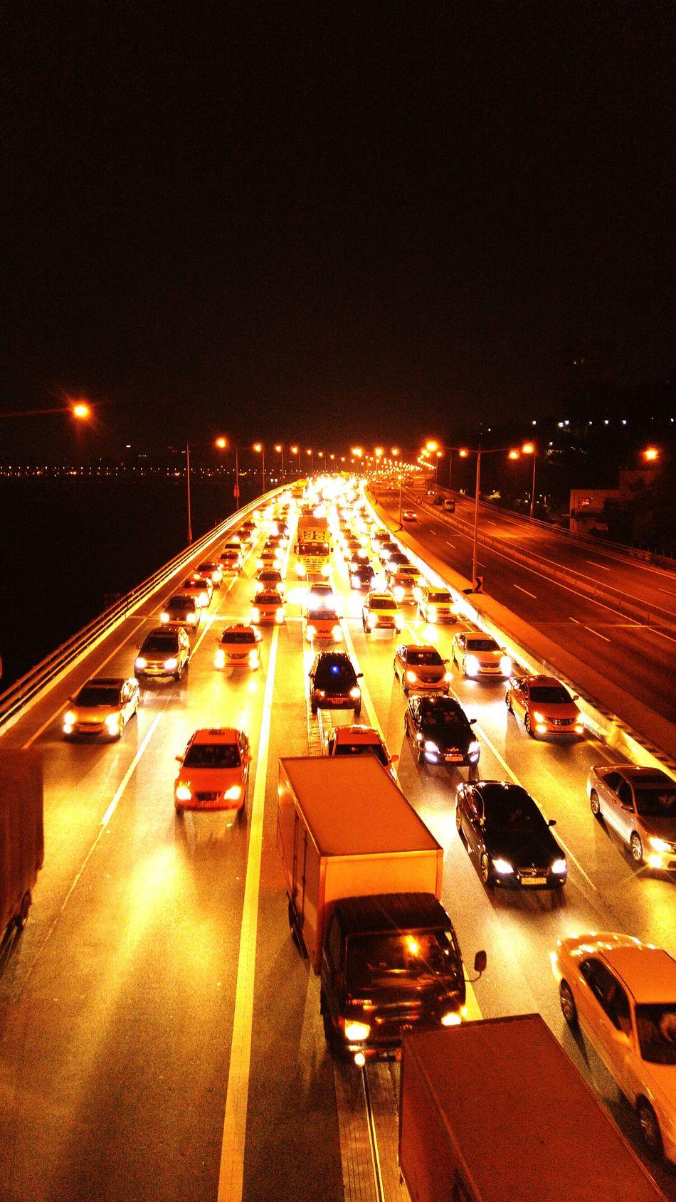 올림픽대로 Nightphotography Streetphotography