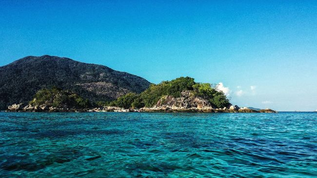 Thailand Showcase: January Ko Lipe Koh Lipe Water Clear Water Coral Ocean Andaman Sea ASIA Afternoon Southeast Asia Outdoors Southern Thailand Seascape Blue Sky Island Landscape Satun Satun Province Spotted In Thailand Malacca Strait