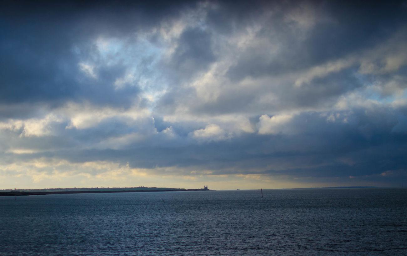 Reculver Clouds And Sky Birchington Sea Beach Weather