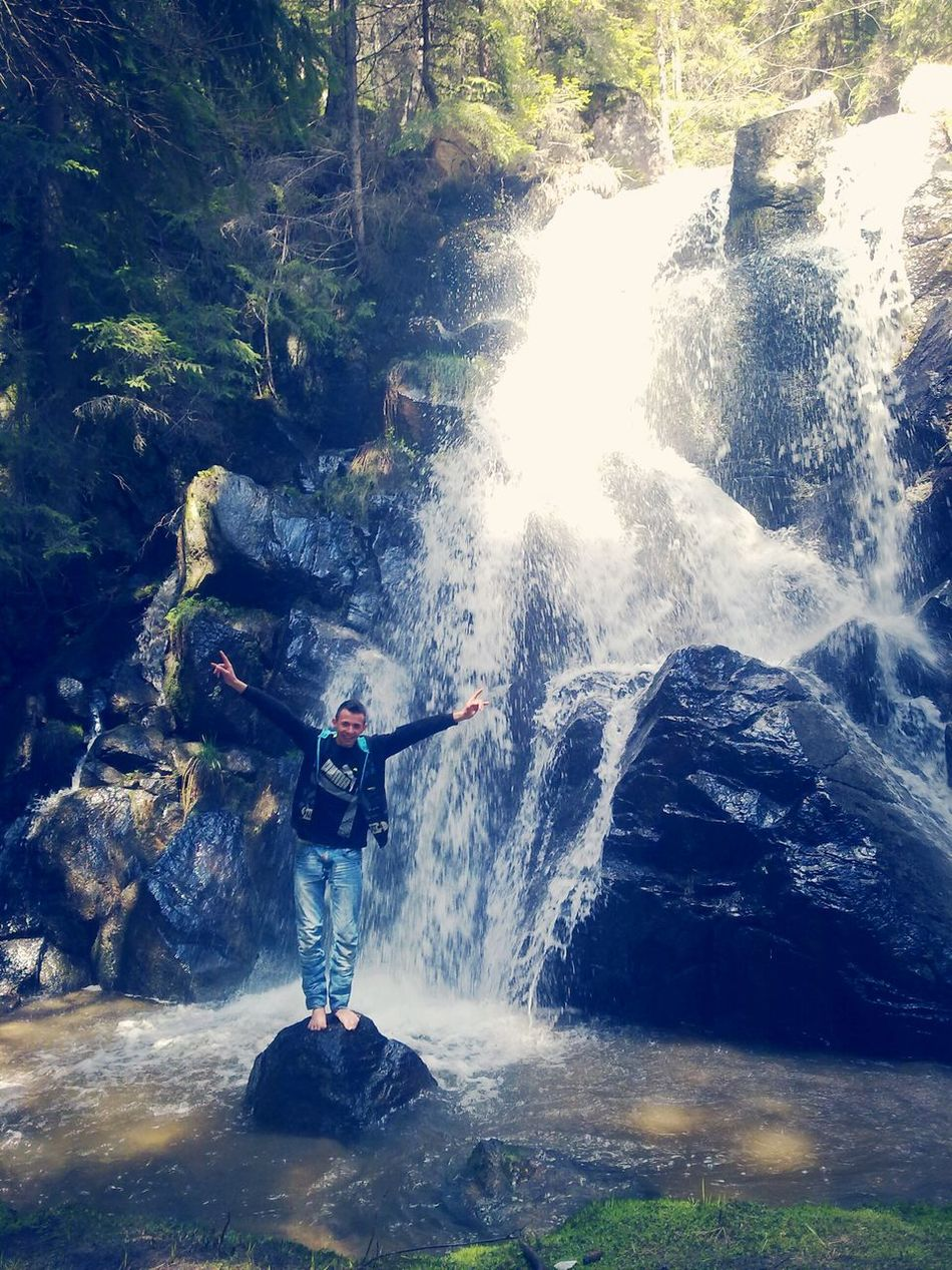 I Love Nature! Waterfall A Walk In The Woods