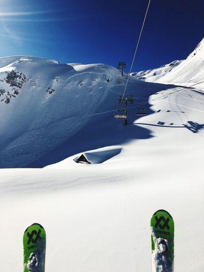 Skiing Swiss Alps Snow Valais Valdanniviers Grimentz Zinal Snow Winter Nature Shades Of Winter