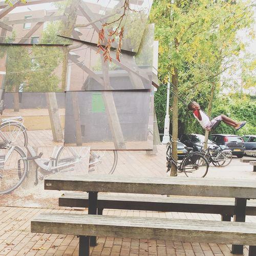 Taking A Swing in Spaarndammerbuurt Unseen Photography Fair