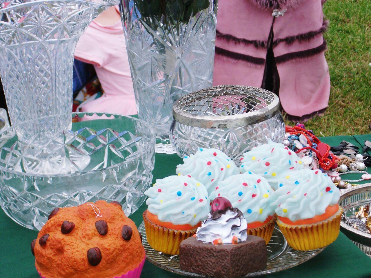 Car Boot Sale Brocante Prix Prices Bijoux Fantaisie Jewelry Fantasies Gateaux Cake♥ Vase En Cristal Crystal Vase Colors LONDON❤