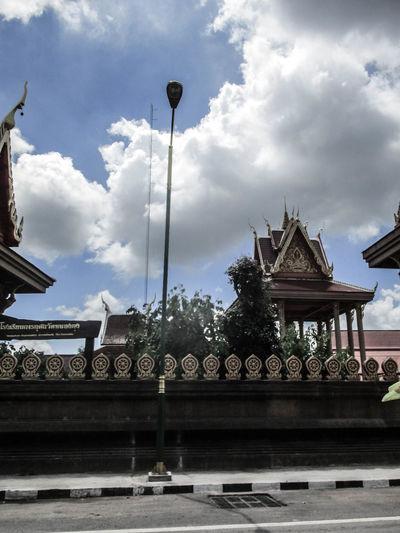 Khon Kaen,Thailand. City Architecture Cloud - Sky Sky Day One Person Photograph Photographing Travel Destinations Thailand🇹🇭