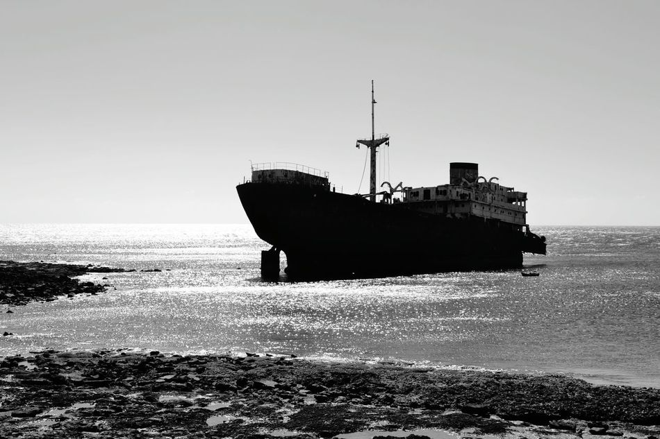 No People Nautical Vessel Day Ship Relict Black & White Blackandwhite Photography Black And White Photography Black&white Blackandwhite Black And White Black And White Collection  Blackandwhitephotography
