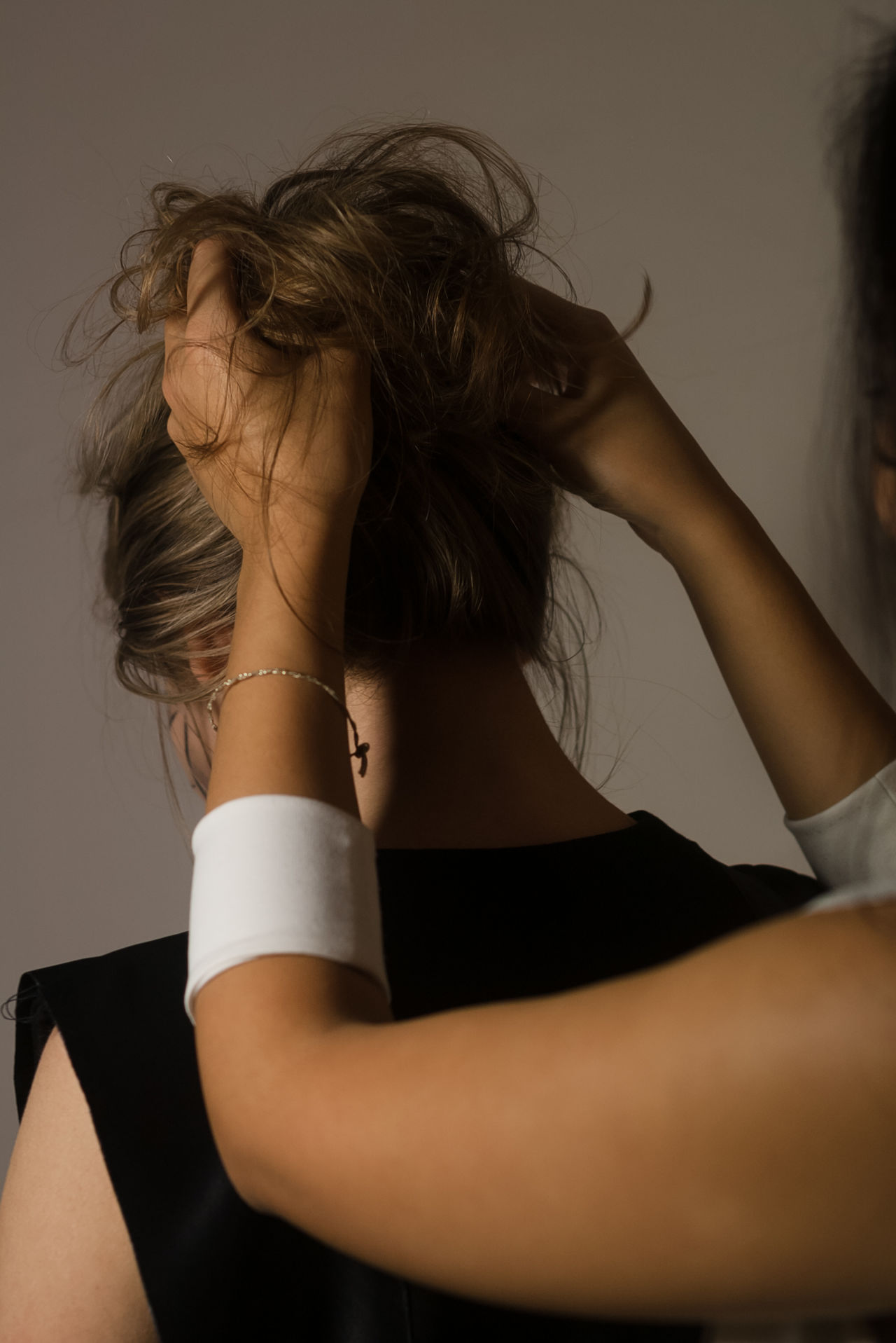 Backstage Beautiful Woman Close-up Clothes Czech Republic Fashion Hair Liberec Studio Shot