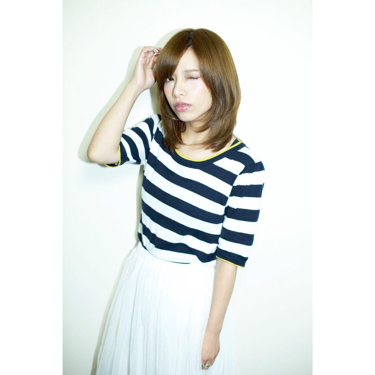 別ショット Hair Beauty Beauty Of Nature Beauty Girl Japan Japanese Girl Kokubutoshinobu Hairstyle 箕面 サロンモデル 美容室