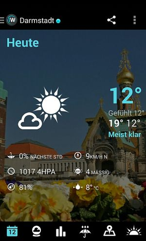 Wetter Darmstadt Chil Out