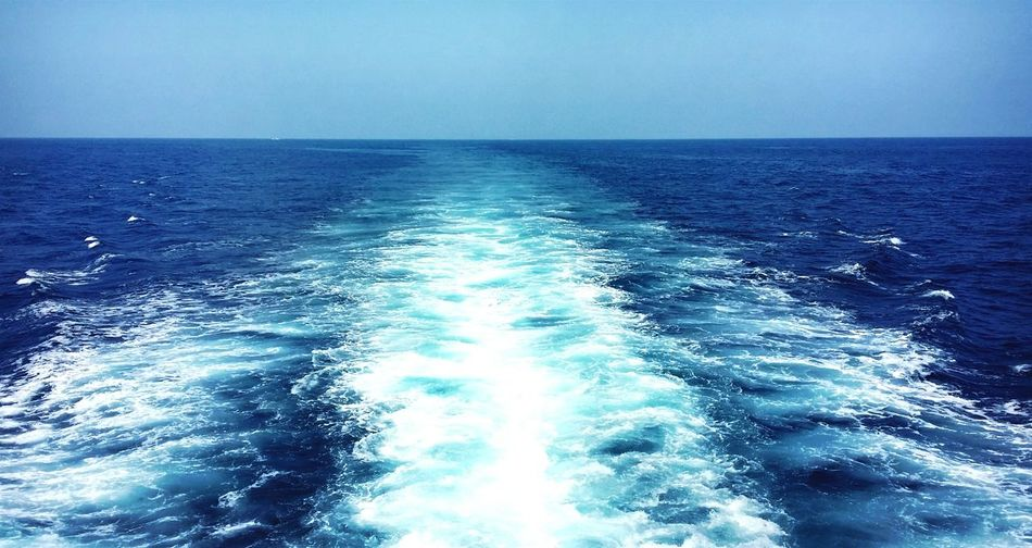 Sea And Sky Sea View Waves Blue Sea Water Reflections Dark Blue Sea Fresh Breeze Beautiful Nature Beautiful Sea Color Sea Views Colour Blue Nice Weather