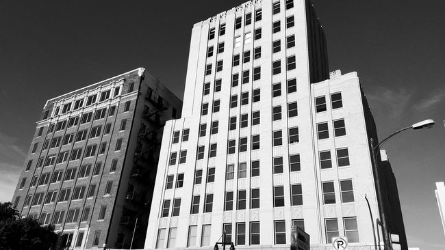 Building Exterior Built Structure Skyscraper Black And White Photography Outside Photography Architectural Photography Exterior Building Taking Photos Downtown Dallas Tx Cityscape