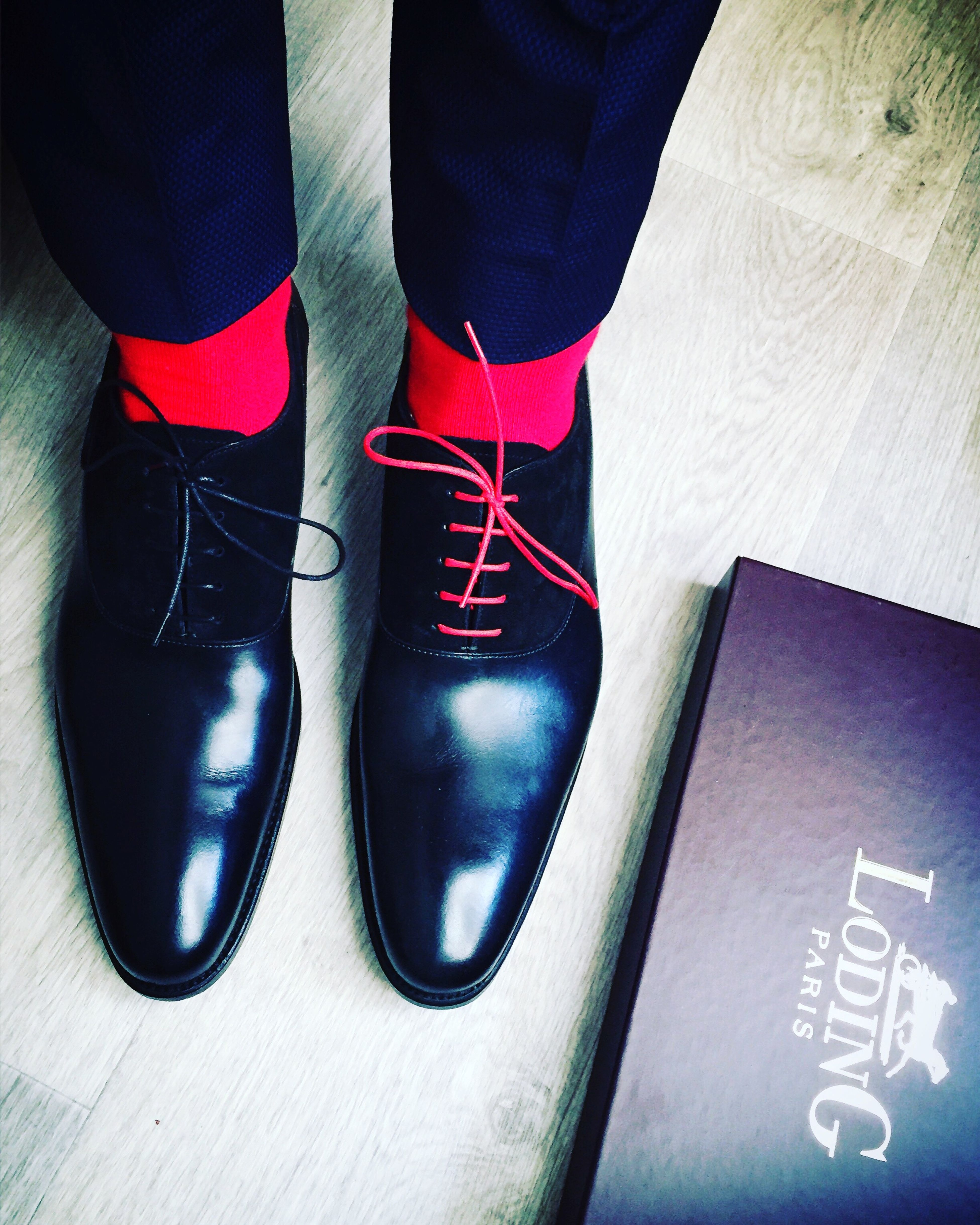 """I try to apply colors like notes that shape music"" Joanmiro Colors Red Redsocks Shoes Loding Paris Fashion Redlaces"