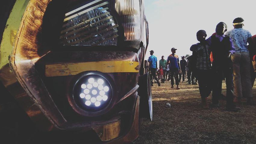 Public Transportation Vehicle Photography Vehicle Light LEDLights Kenya Nairobi