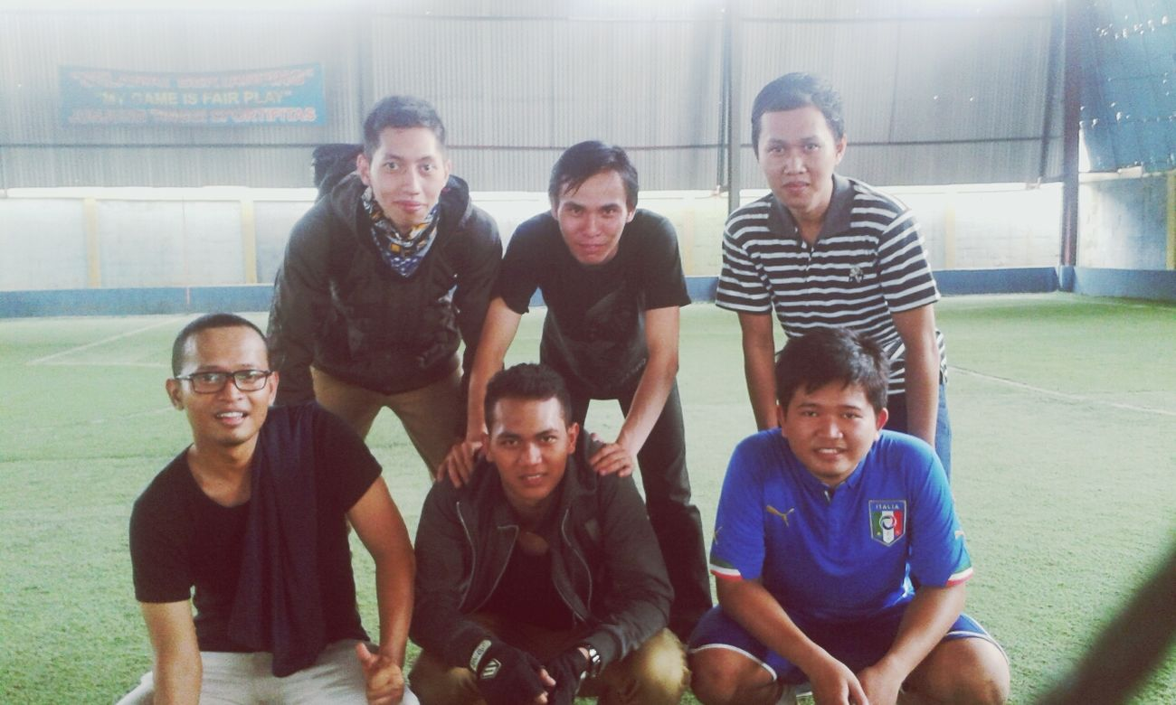 Sports Futsal Team Relaxing College