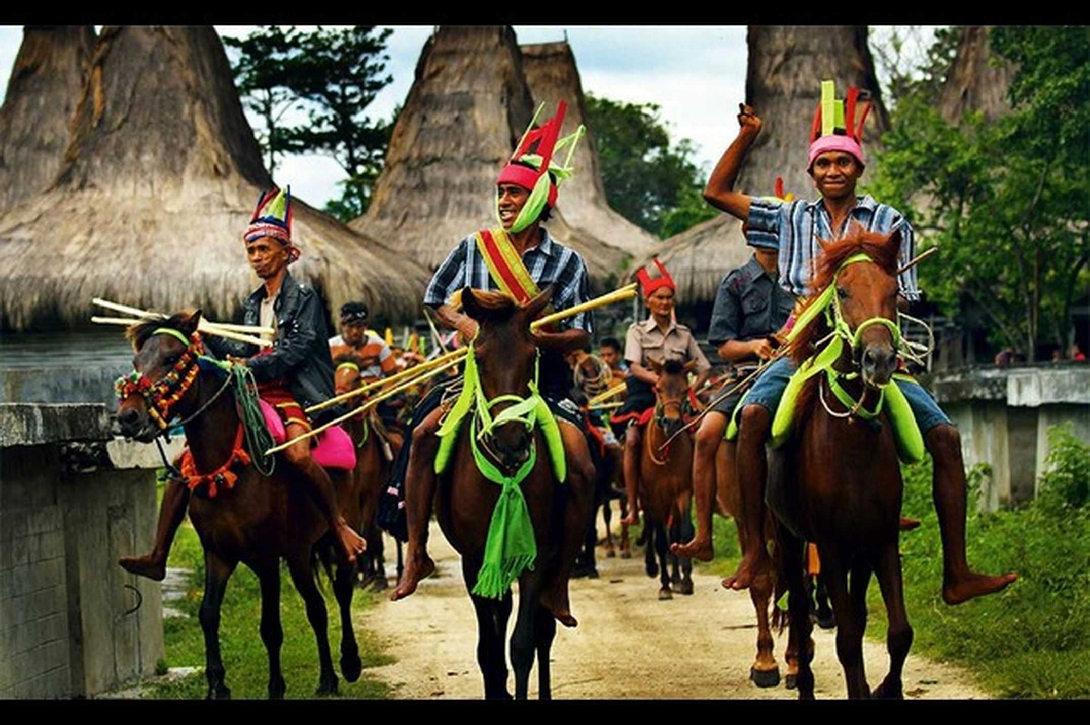 Sumba Island Pasola Traditional Culture My Flores