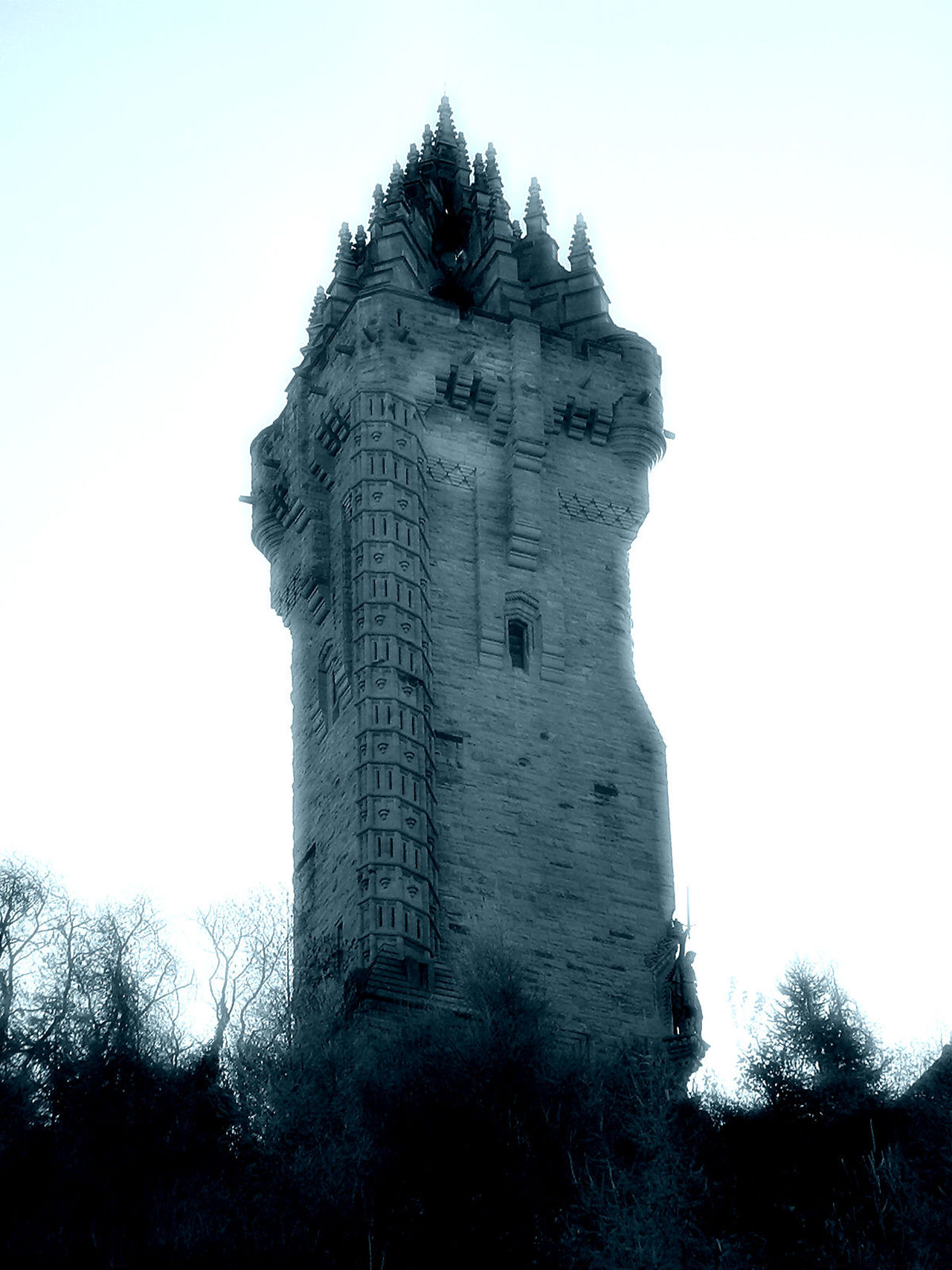 Black And White Photography Braveheart😀 Dreamy Monument Scotland Stirling William Wallace