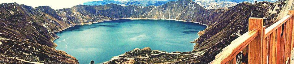 The EyeEm Facebook Cover Challenge Laguna Quilotoa ecuador All You Need Is Ecuador