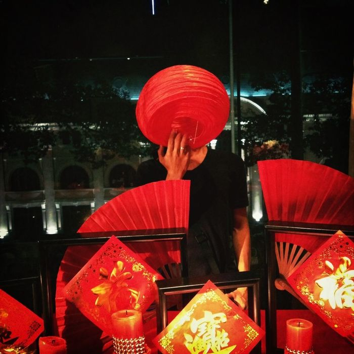 Red That's Me Saigon