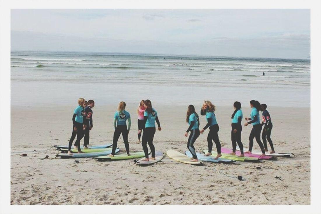 Surfing Roxysurfschool Beach Surfers