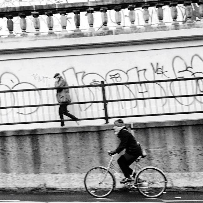 Life In Motion Streetphotography Blackandwhite Walking